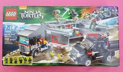 Lego Legos 79116 Teenage Mutant Ninja Turtles TMNT Big Rig Snow Getaway MIB NIB