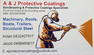 Sandblasting / Protective Coatings