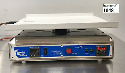 Wave Bioreactor Base20eh System 20e Rocker With Heat Pad Used Working