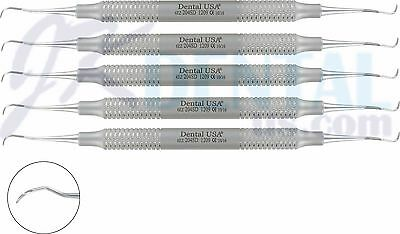 5set Dental Scaler Curettes 204sd By Dental Usa 1209b5
