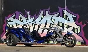2013 Trike Boom Mustang STI and Trailer
