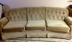 Couch and chair - furniture