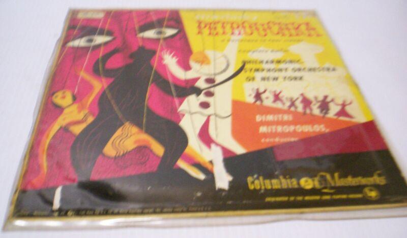 "Columbia Masterworks  ""Stravinsky Petrouchka"" LP Record"