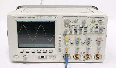Agilent Mso6054a 500 Mhz 4 16 Ch 4 Gss Mixed Signal Scope W Options