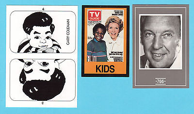 Diffrent Strokes Tv Show Cards  Unique Card Collection Gary Coleman