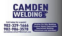 Portable welding and welding services