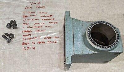 Emco Maximat V10-p Lathe Vma Parts 3 Round Post Mounting Bracket C31u