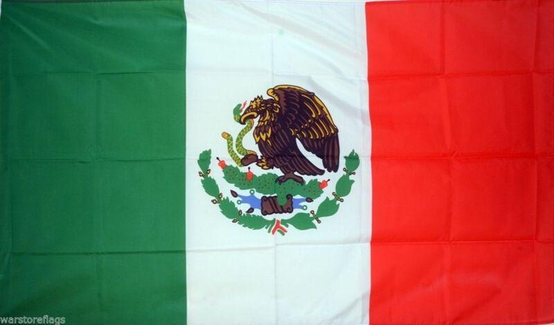 MEXICO FLAG 3X2 feet 90cm x 60cm FLAGS MEXICAN