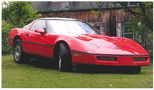 Beautiful '86 Vette