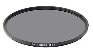 ICE-95mm-ND1000-Filter-Neutral-Density-ND-1000-95-10-Stop-Optical-Glass-NEW