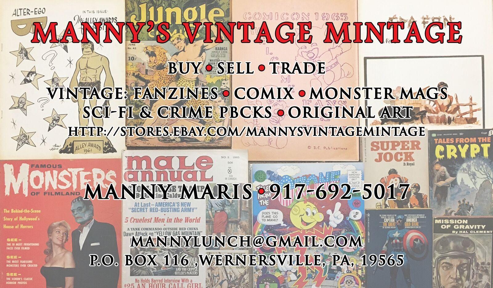 Manny's Vintage Mintage