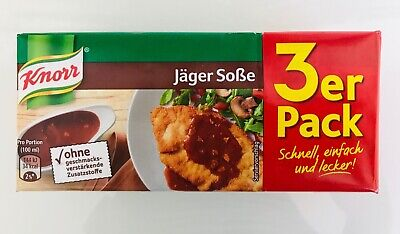Knorr Jager Hunter's Sauce -Pack of 3- Made in Germany FREE US -