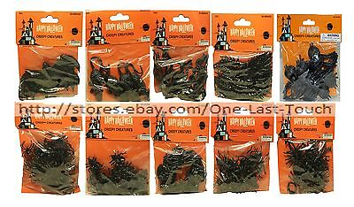 HAPPY HALLOWEEN* Party Favors CREEPY CREATURES Bag Fillers BLACK *YOU CHOOSE* 1b](Halloween Party Bag Fillers)