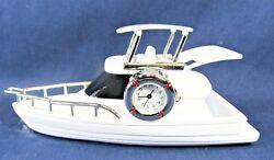 Yacht Novelty Desk Clock Decorative Nautical Home Decor