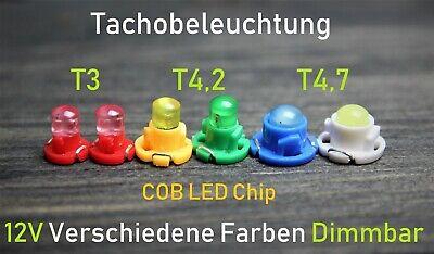 T3 T4.2 T4.7  LED COB Tachobeleuchtung Innenraum  Weiß Blau Superhell 🔥TOP🔥 online kaufen
