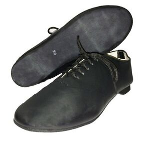 Jazz-Modern-Leather-Dance-Shoes-Full-Suede-Sole