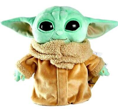 "Star Wars Mandalorian The Child 8"" Plush Grogu Baby Yoda Doll Mattel - NWT!"