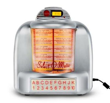 Retro Line Select-O-Matic Wall Jukebox  (Retro Jukeboxen)