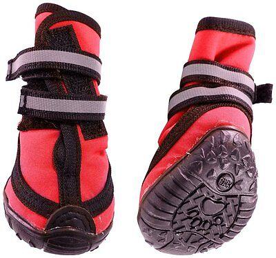 Performance Winter Dog walking Boots Set of 4