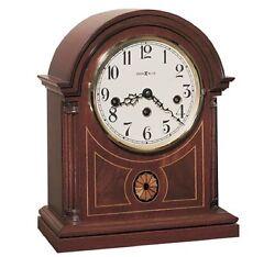 Howard Miller 613-180 (613180) Barrister Mantel Clock - Mahogany