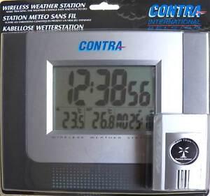 Elektronische drahtlose Wetterstation, Außensensor, Termometer *p