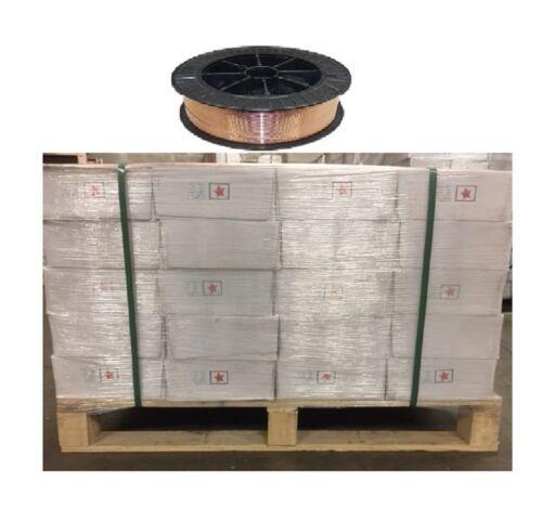 "1 Pallet .035"" Mig Welding Wire Er70s-6 .035"" 44 Ib Roll 60 Rolls Total 2640 Ib"