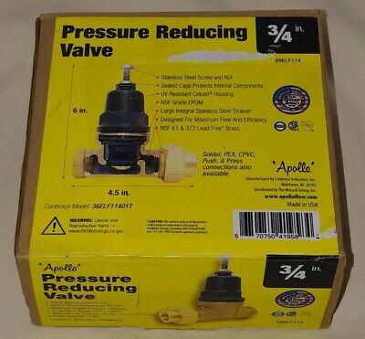 Apollo 34 In. X 34 In. Lead Free Bronze Fnpt Pressure Reducing Valve