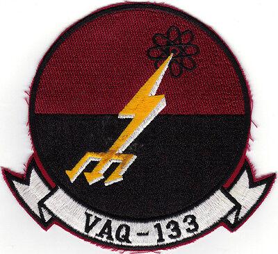 Vaq-133 (us Navy Squadron Patch) Large