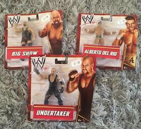 WWE Wrestlers - Brand New