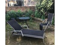 Garden recliner and lounger chair