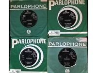 BEATLES singles X 4 , 1st Pressings