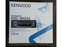 Car radio CD receiver MP3 player Kenwood KDC W4534