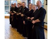 MARTIAL ARTS, JAPANESE SWORD, IAIDO - NEWTON MEARNS