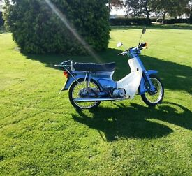 Honda C90. low mileage. lovely condition