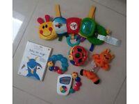 6 x BABY EINSTEIN Toys and DVD
