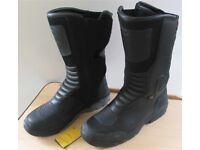 Falco Motorcycle boots - Outdry, Vibram - Size 9 UK - new last month & worn once