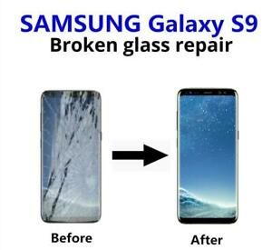 Samsung Galaxy S9 & S9+ Plus cracked screen display glass LCD repair FAST **