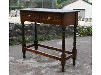 Lovely Petite Oak Side Table