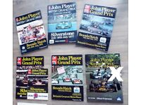 John Player British Grand Prix Silverstones - 74, 75,76,77 & 78 Brands Hatch
