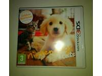 Nintendogs and cats 3DS game