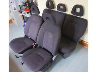 Mercedes Benz a class w168 fabric seats