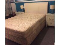 Divan Bed 4 Dawers and headboard
