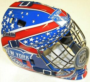 NEW YORK RANGERS NHL FRANKLIN YOUTH STREET HOCKEY GOALIE MASK Brand New for 2013