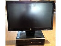 """HP desktop computer i5 8200 / 8300 and 21"""" monitor with new keyboard and mouse"""