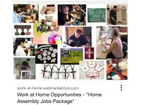 Assemble & craft work from home