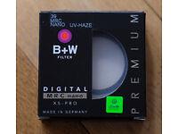 E39 for Leica B+W Digital MRC Nano Premium UV/Haze Filter, mint and boxed