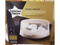 Tommee Tippee Closer to Nature Microwave Steam Steriliser - Collect Stockport RRP £27.96 atamazon