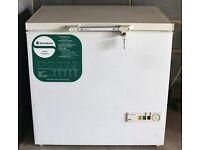 Chest freezer Scandinova CF84C. 8.5 cu ft, 240 cu litres. Height 850 width 850 depth 650.