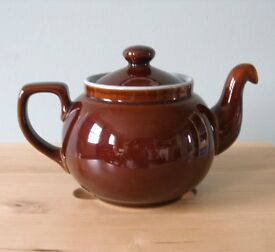Denby Homestead Brown teapot 1 1/4 pint