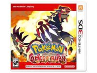 Pokemon X and Omega Ruby for sale